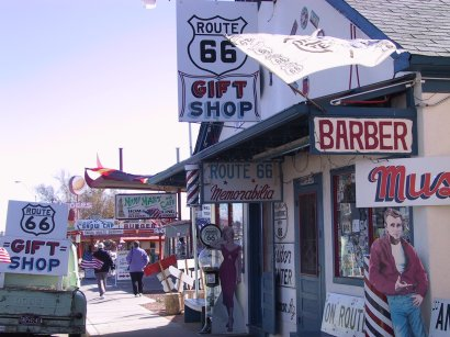 Route 66 In Arizona And California November 27