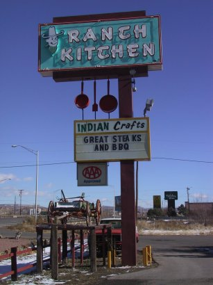 Route 66 In New Mexico And Arizona November 26